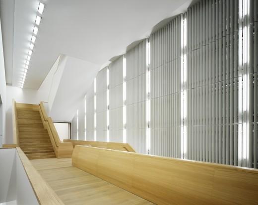 vista interna del museo Brandhorst © Noshe